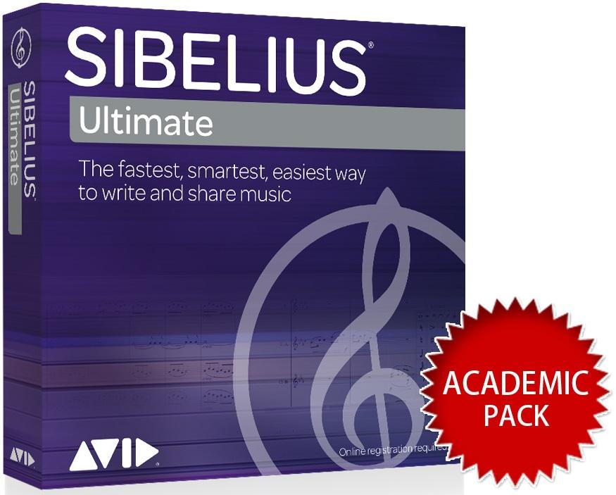 AVID アビッド / Sibelius Ultimate アカデミック版 【永続ライセンス】【お取り寄せ商品】
