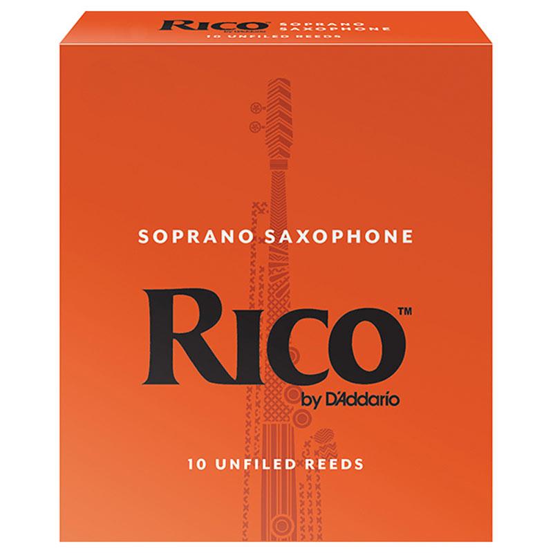 DAddario Woodwinds RICO ソプラノサックス用リード オレンジ箱 10枚入 優先配送 LRIC10SS2.5 2 ダダリオ 1 リコ お取り寄せ商品 まとめ買い特価