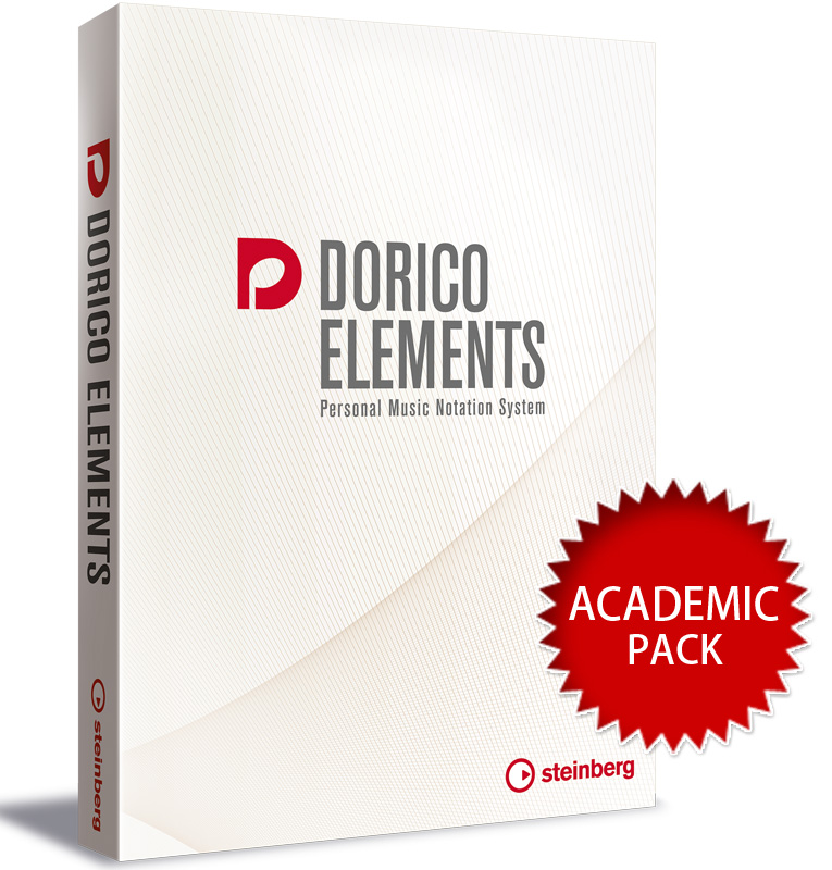 Steinberg スタインバーグ / Dorico Elements アカデミック版 譜面作成ソフト