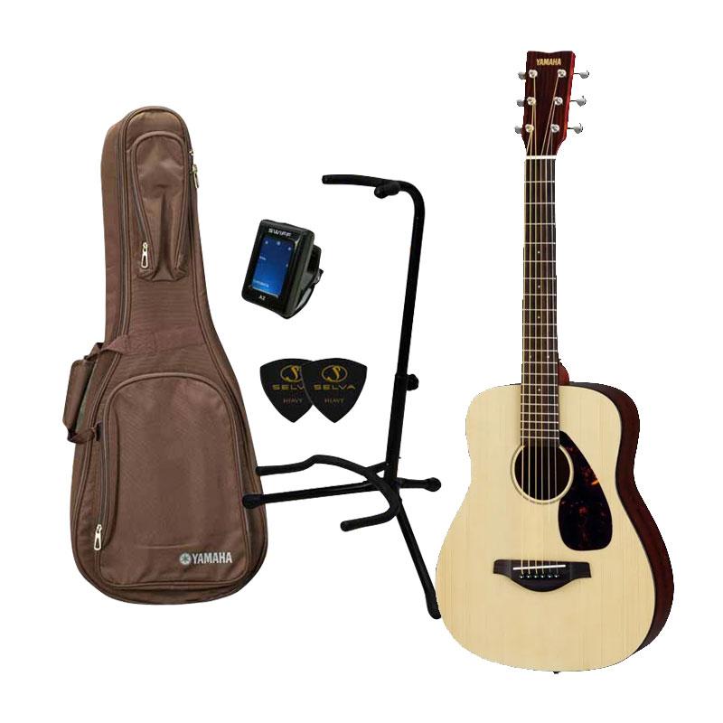 YAMAHA ヤマハ / JR2S NT 【ミニギター5点セット】ミニ アコースティックギター アコギ 入門 初心者 入門セット【YRK】