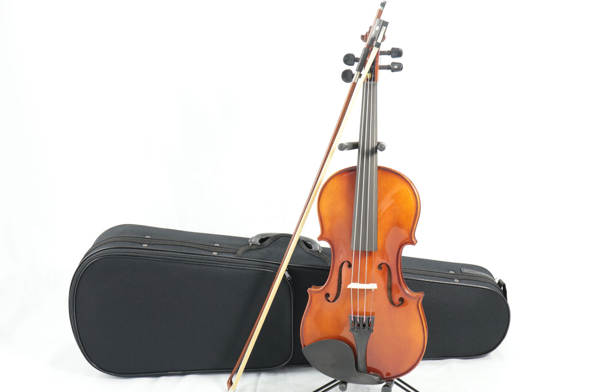 Carlo giordano / VS-1 バイオリンセット 4/4 【バイオリンアウトフィット】 Violin Set カルロジョルダーノ 入門 初心者 ヴァイオリン【お取り寄せ商品】