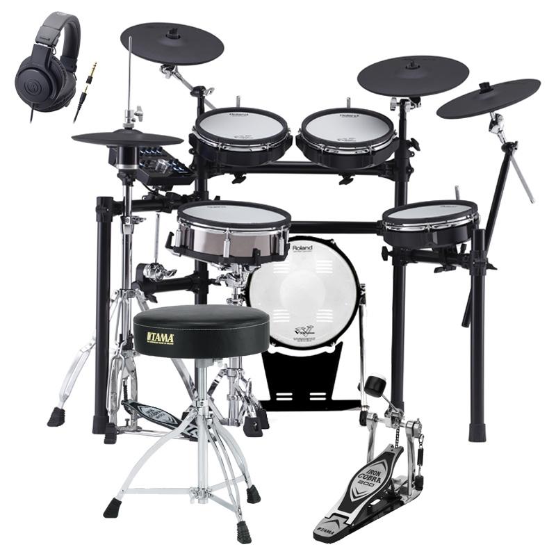 Roland Drum System TD-25KVX KD-120BKセット オリジナルスターターパック【YRK】【10000円キャッシュバックWキャンペーン対象商品】