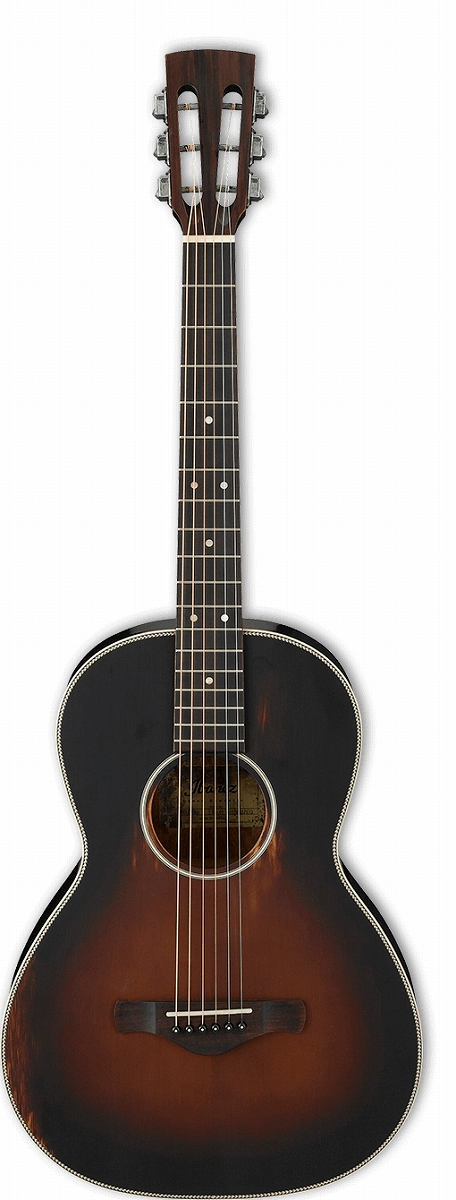 Ibanez / Thermo Aged AVN11 Antique Brown Sunburst Semi-Gloss(ABS) アイバニーズ アコースティックギター【WEBSHOP】【★お取り寄せ商品】