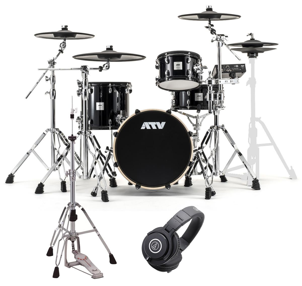 ATV / aDrums artist Standard Set ADA-STDSET 3シンバルセット HHスタンドとヘッドホンM40x付き《予約注文/納期12月上旬頃予定》