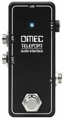 Orange オレンジ / OMEC Teleport ペダルタイプ・オーディオインターフェース