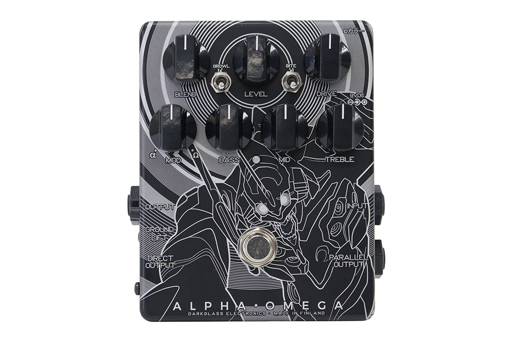 DARKGLASS ELECTRONICS / ALPHA OMEGA Japan Limited EVA 初号機 ver プリアンプ オーバードライブ 【限定400台!】