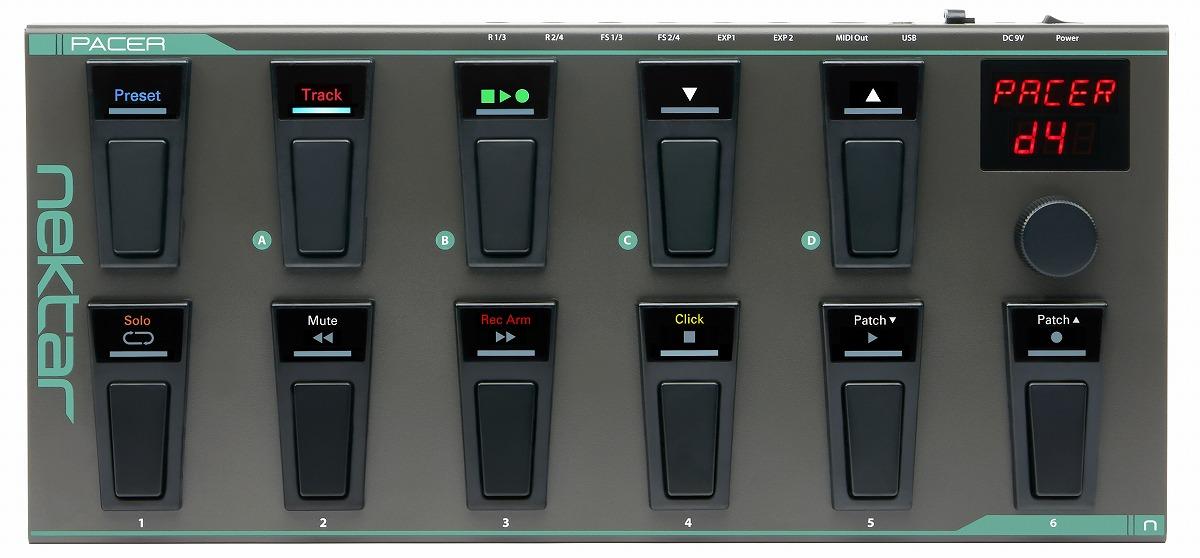 Nektar Technology / PACER ペダル型MIDIコントローラー 【お取り寄せ商品】