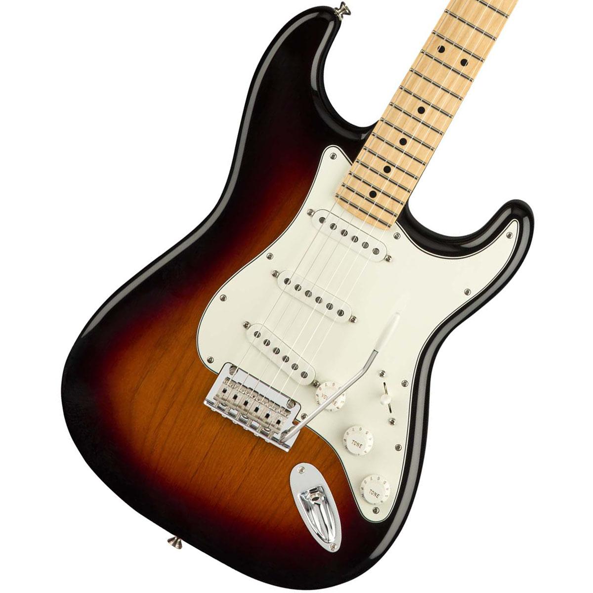【タイムセール:29日12時まで】Fender / Player Series Stratocaster 3 Color Sunburst Maple 【YRK】【新品特価】