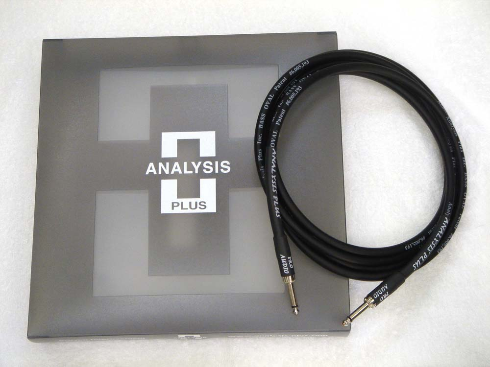 ANALYSIS PLUS アナリシスプラス / Instrument Cable BASS OVAL 5m SS【WEBSHOP】