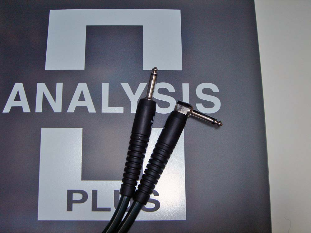 ANALYSIS PLUS アナリシスプラス / Patch Cable BIG GREEN 0.4m SL【WEBSHOP】