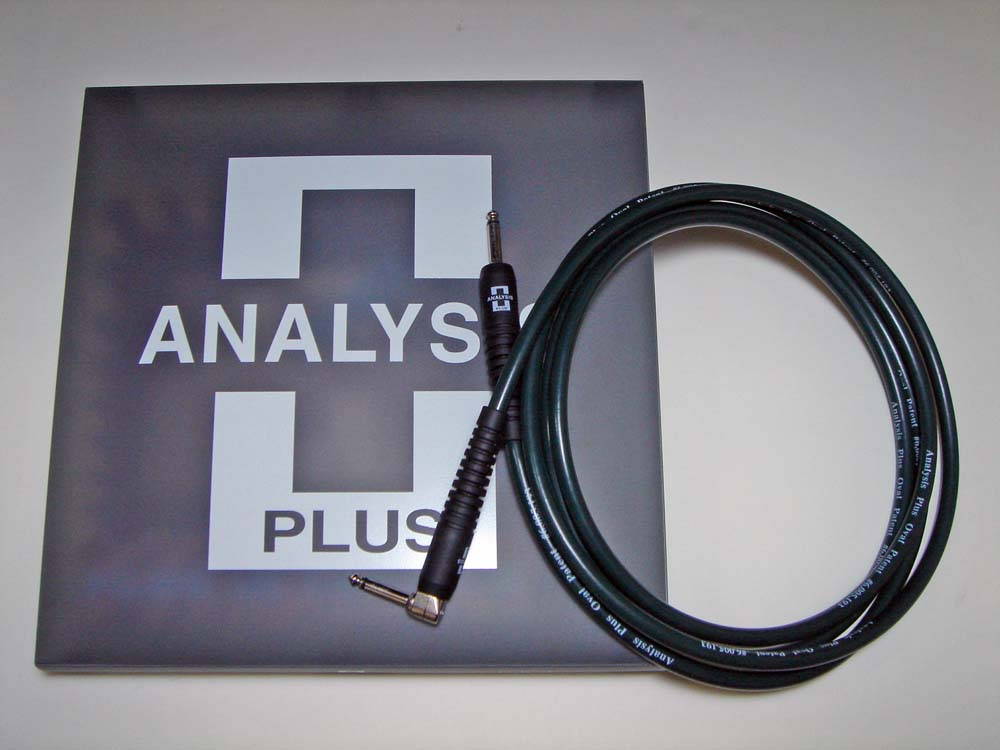 ANALYSIS PLUS アナリシスプラス / Instrument Cable BIG GREEN 4m SL【WEBSHOP】
