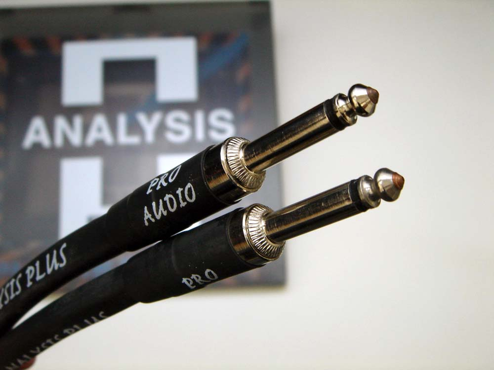 ANALYSIS PLUS アナリシスプラス / Speaker Cable CLEAR OVAL 4m Phone-Phone【WEBSHOP】