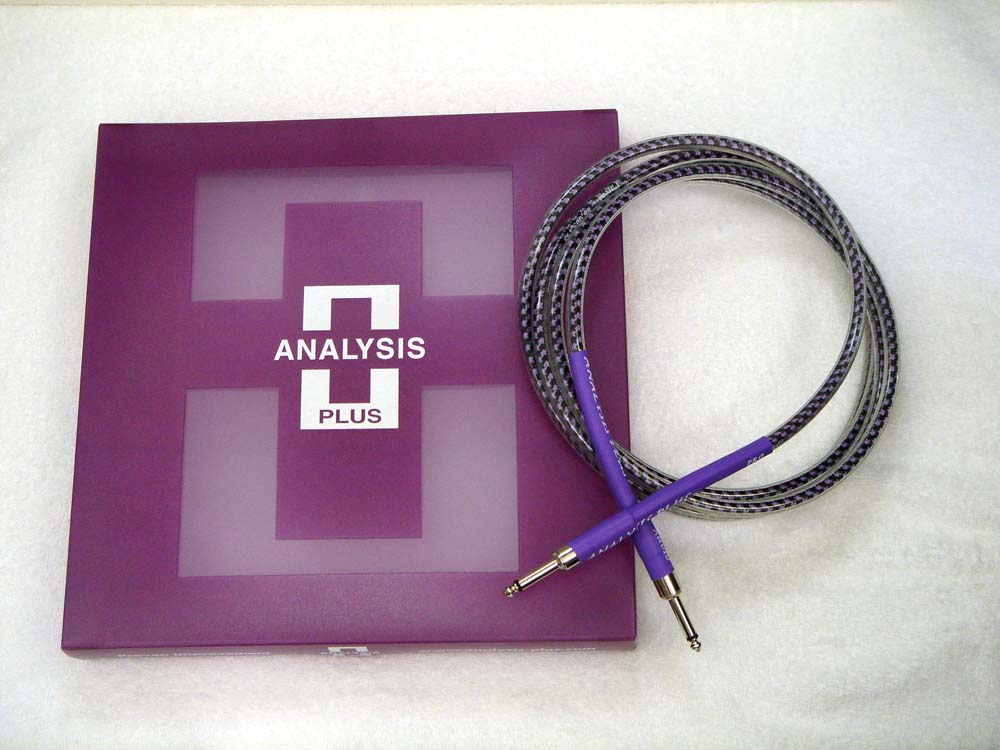 ANALYSIS PLUS アナリシスプラス / Instrument Cable PRO OVAL STUDIO 1m SS【WEBSHOP】