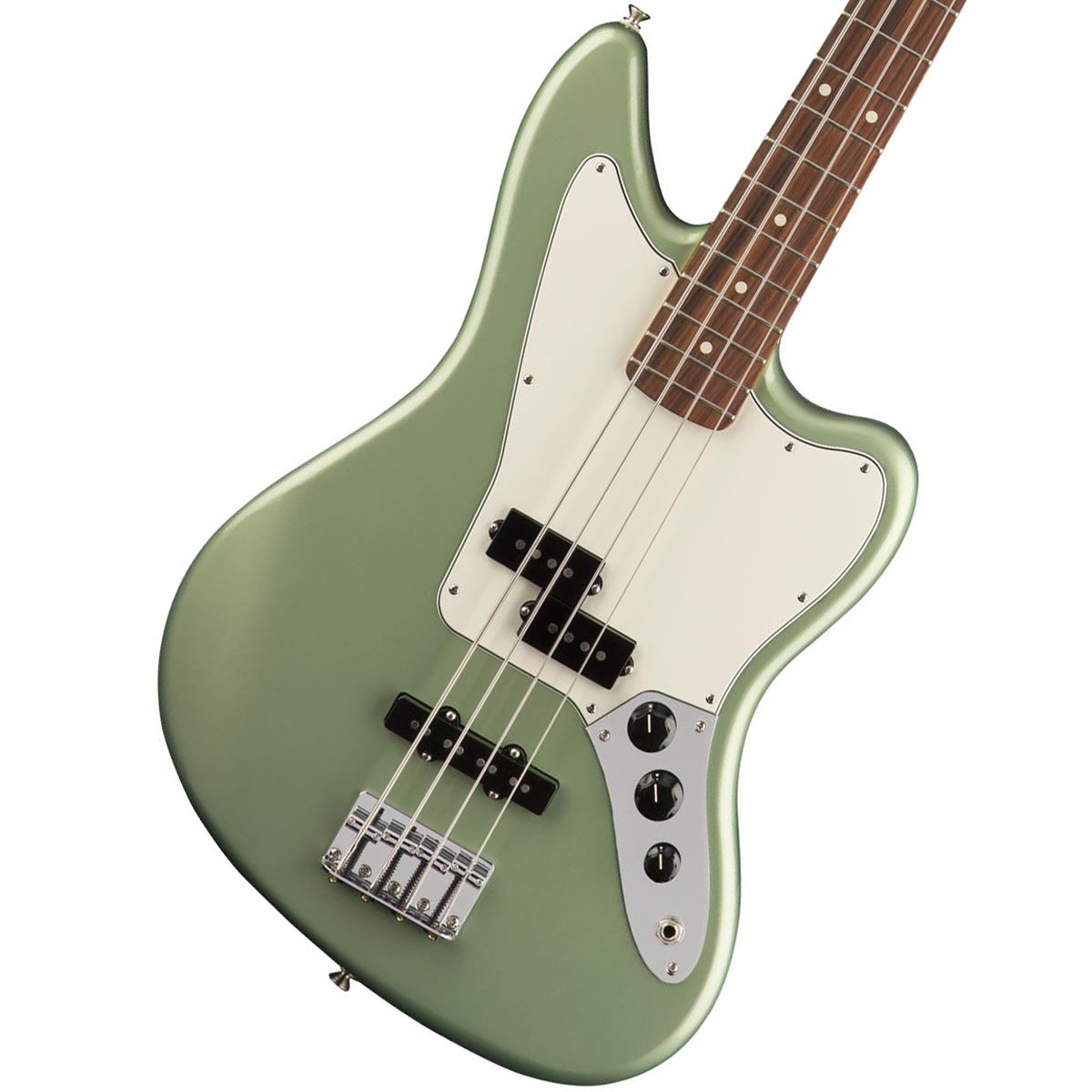 Fender/ Player Series Jaguar Bass Player Sage Sage Green Metallic【YRK】 Pau Ferro【YRK】, 品質満点:f4636cc3 --- sunward.msk.ru