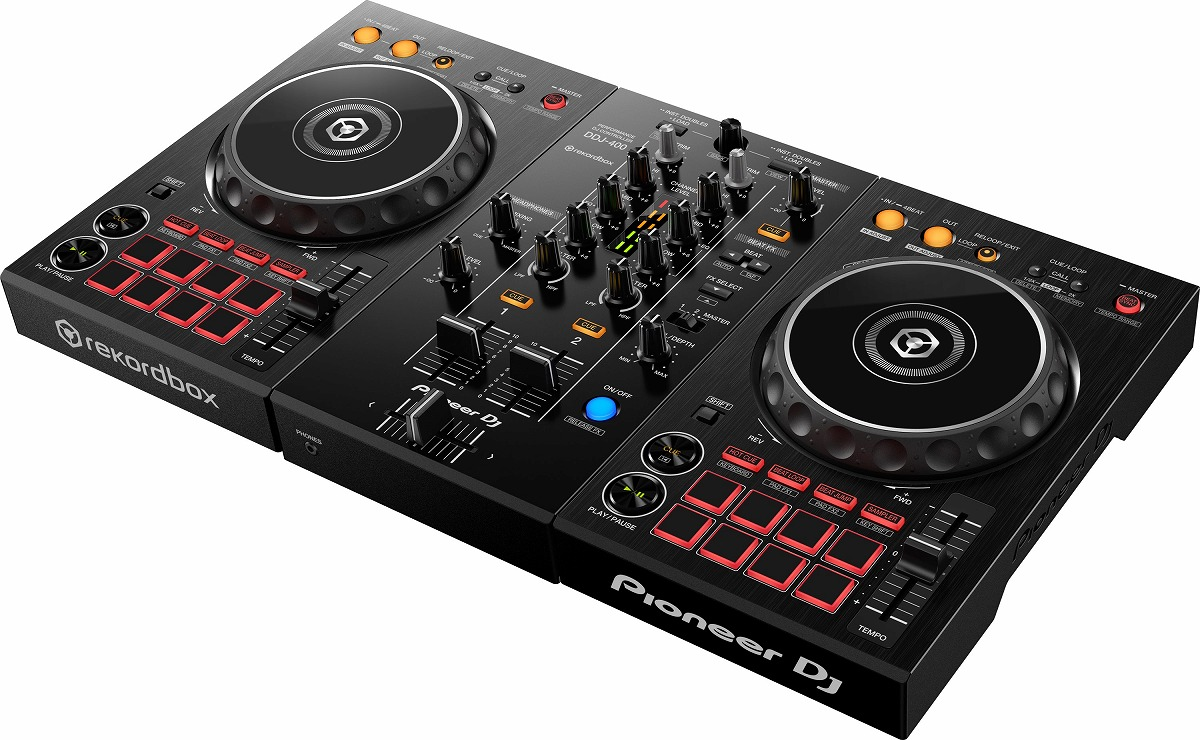 Pioneer DJ パイオニア / DDJ-400 DJコントローラー【PNG】