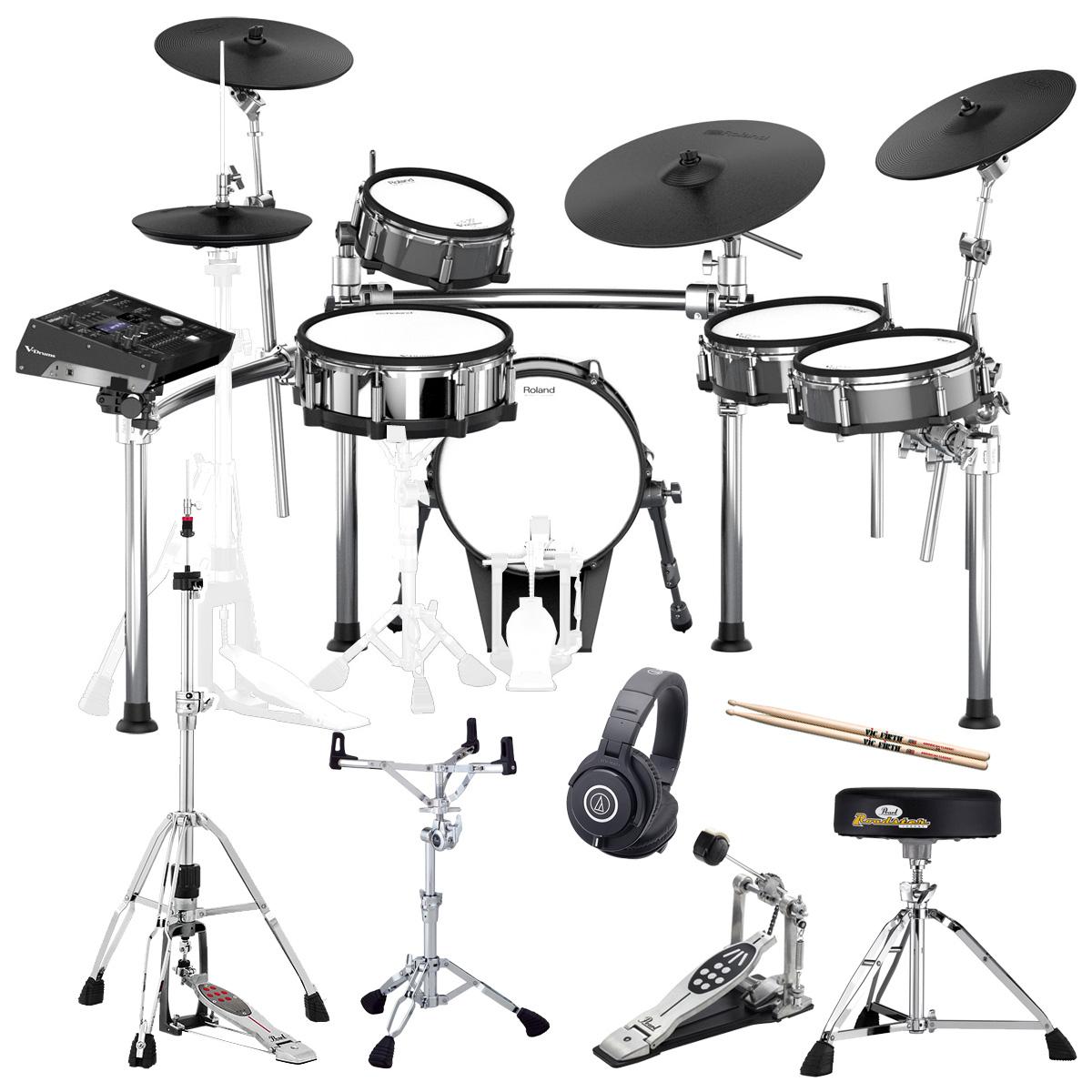 Roland Drum System TD-50KV KD-140-BC MDS-50KV PEARL製オプションセット【YRK】