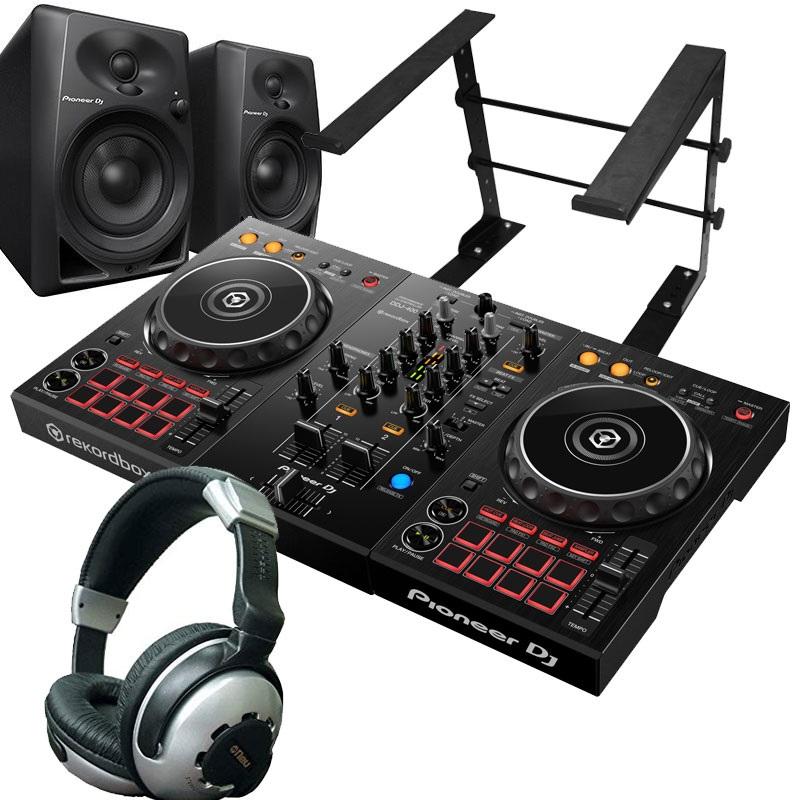 Pioneer DJ パイオニア / DDJ-400 【Pioneerモニターセット!】 DJコントローラー【PNG】