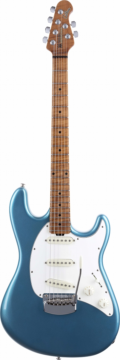 MUSIC MAN / Cutlass RS Vintage Turquoise / Roasted Figured Maple Fingerboard ミュージックマン