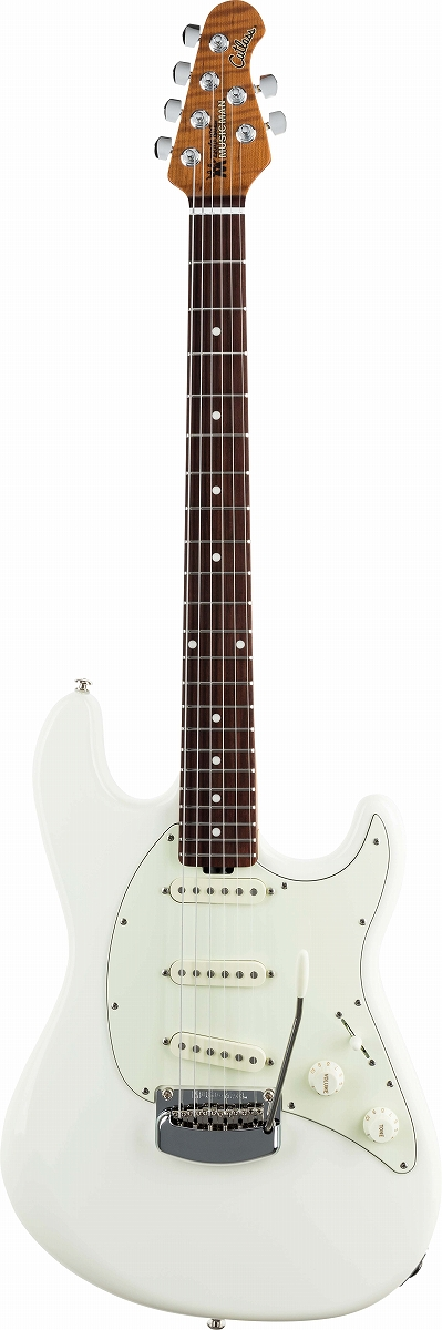 MUSIC MAN / Cutlass RS Ivory White / Rosewood Fingerboard ミュージックマン