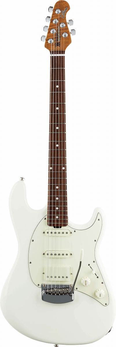 MUSIC MAN / Cutlass RS HSS Ivory White ミュージックマン