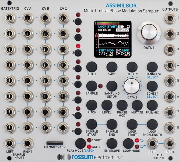 Rossum Electro-Music / Assimil8or サンプラーモジュール【お取り寄せ商品】