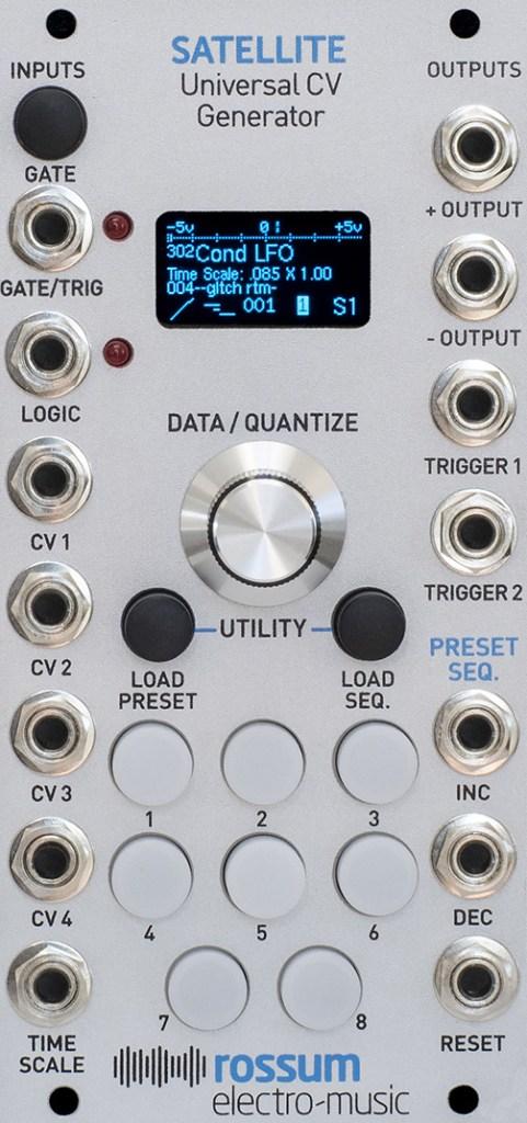 Rossum Electro-Music / Satellite CV ジェネレーター・モジュール【お取り寄せ商品】