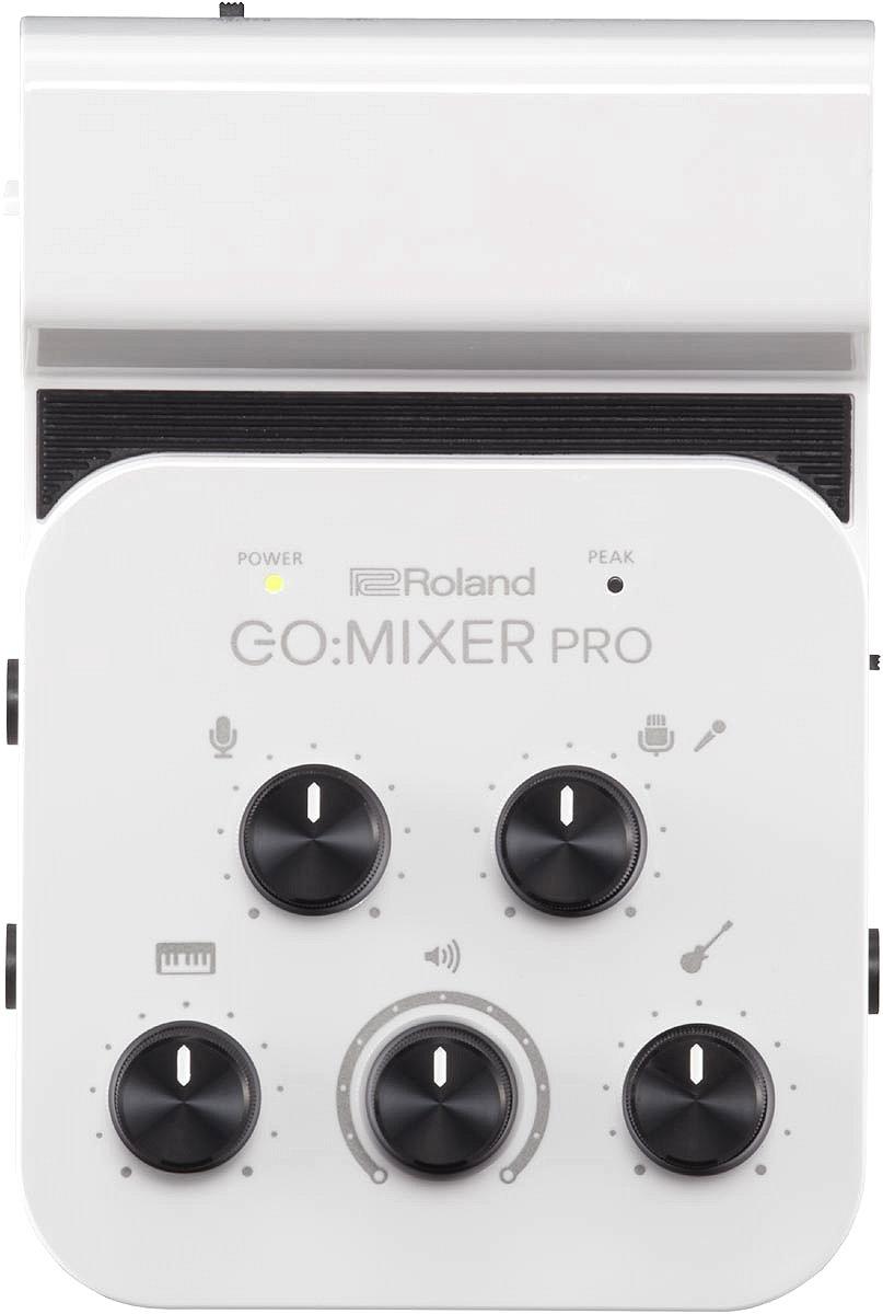 【在庫あり】Roland ローランド / GO:MIXER PRO(Audio Mixer for Smartphones)GO MIXER GOMIXER【YRK】