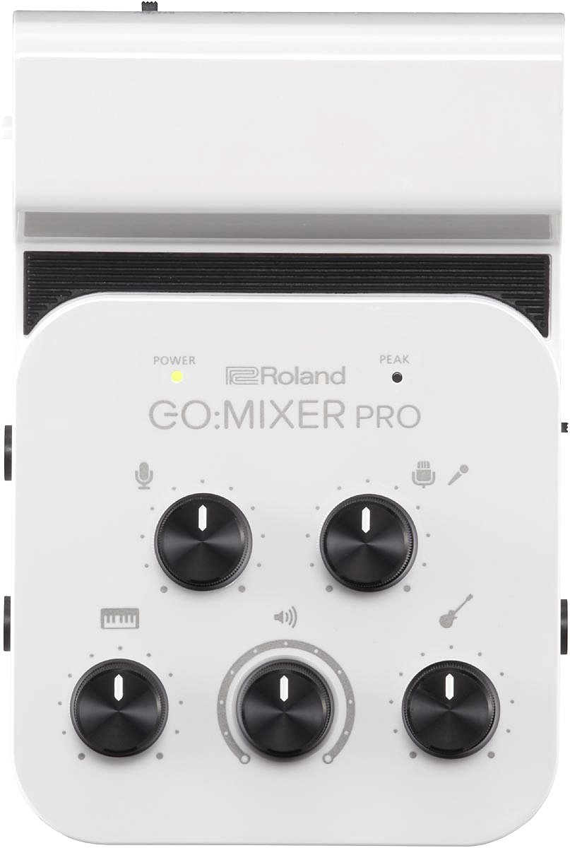 Roland ローランド / GO:MIXER PRO(Audio Mixer for Smartphones)GO MIXER GOMIXER【YRK】