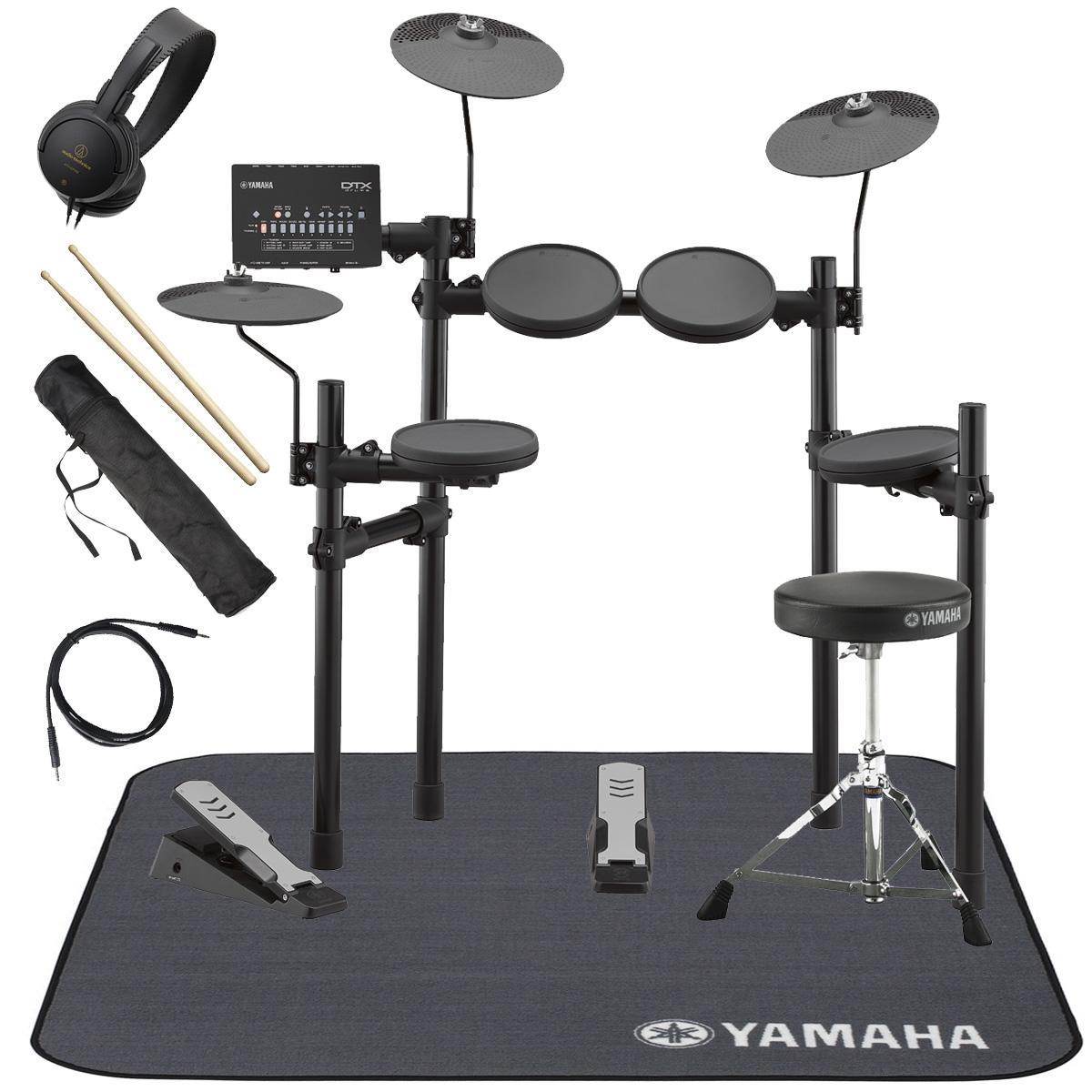YAMAHA / DTX402KS 電子ドラム 純正マット付き オリジナルスターターパック【YRK】