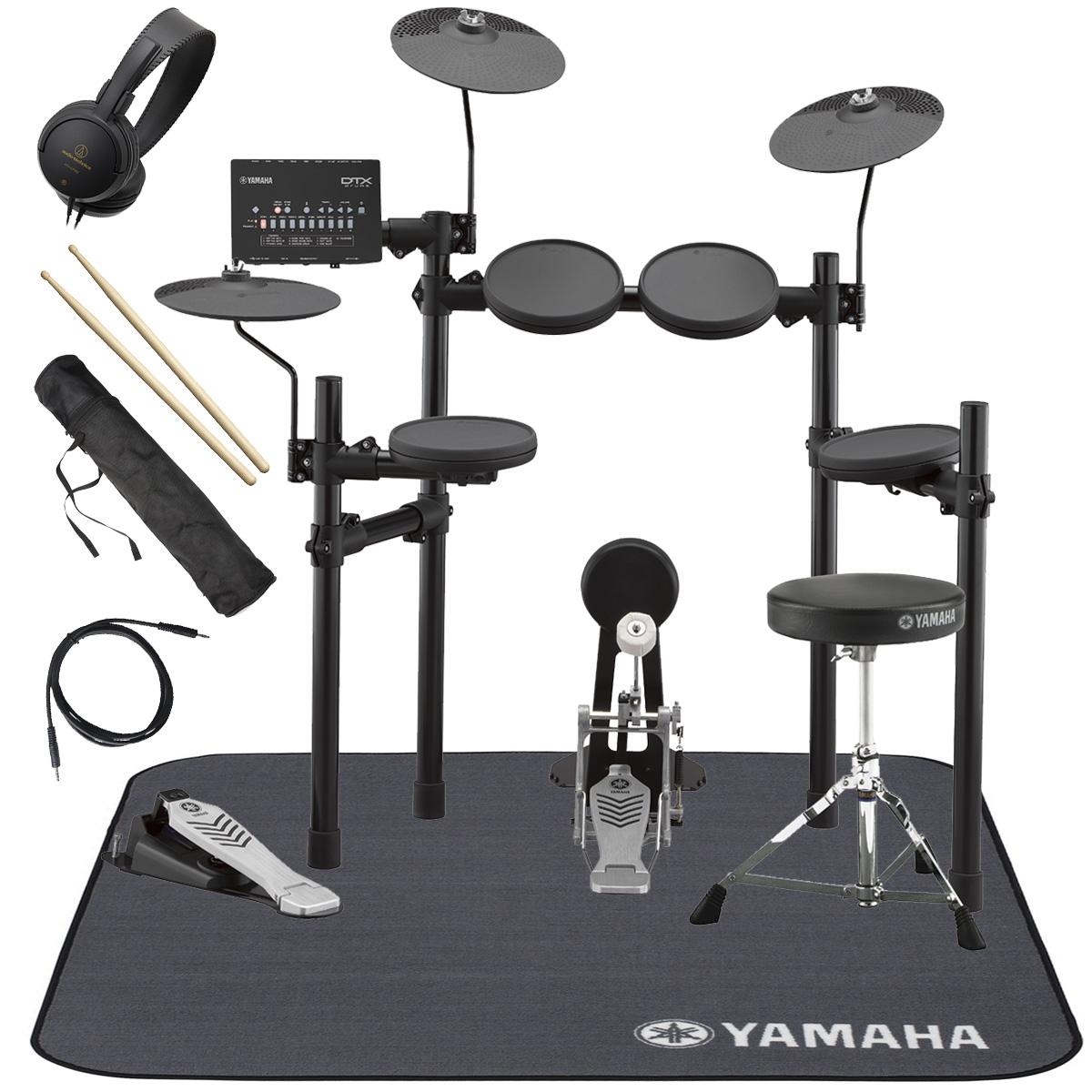 YAMAHA / DTX432KS 電子ドラム 純正マット付き オリジナルスターターパック【YRK】