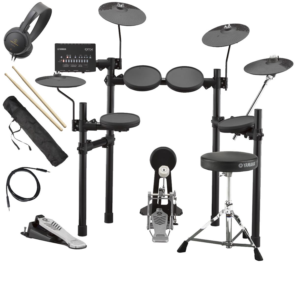 YAMAHA / DTX432KUPGS 3シンバル 電子ドラム オリジナルスターターパック【YRK】