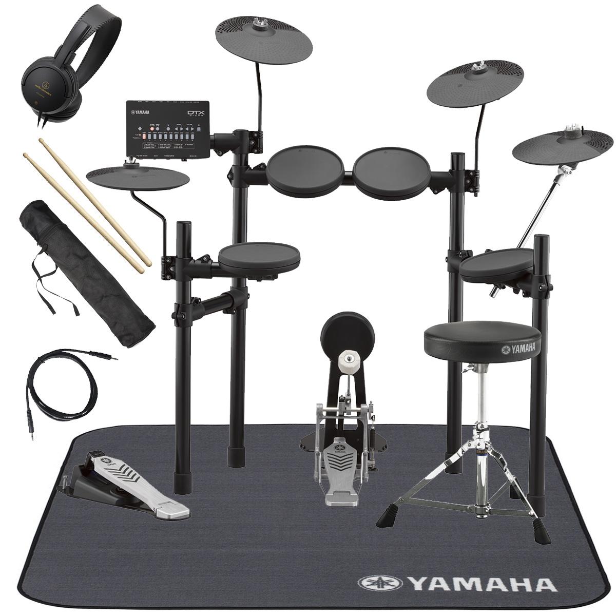 YAMAHA / DTX432KUPGS 3シンバル 電子ドラム 純正マット付き オリジナルスターターパック【YRK】