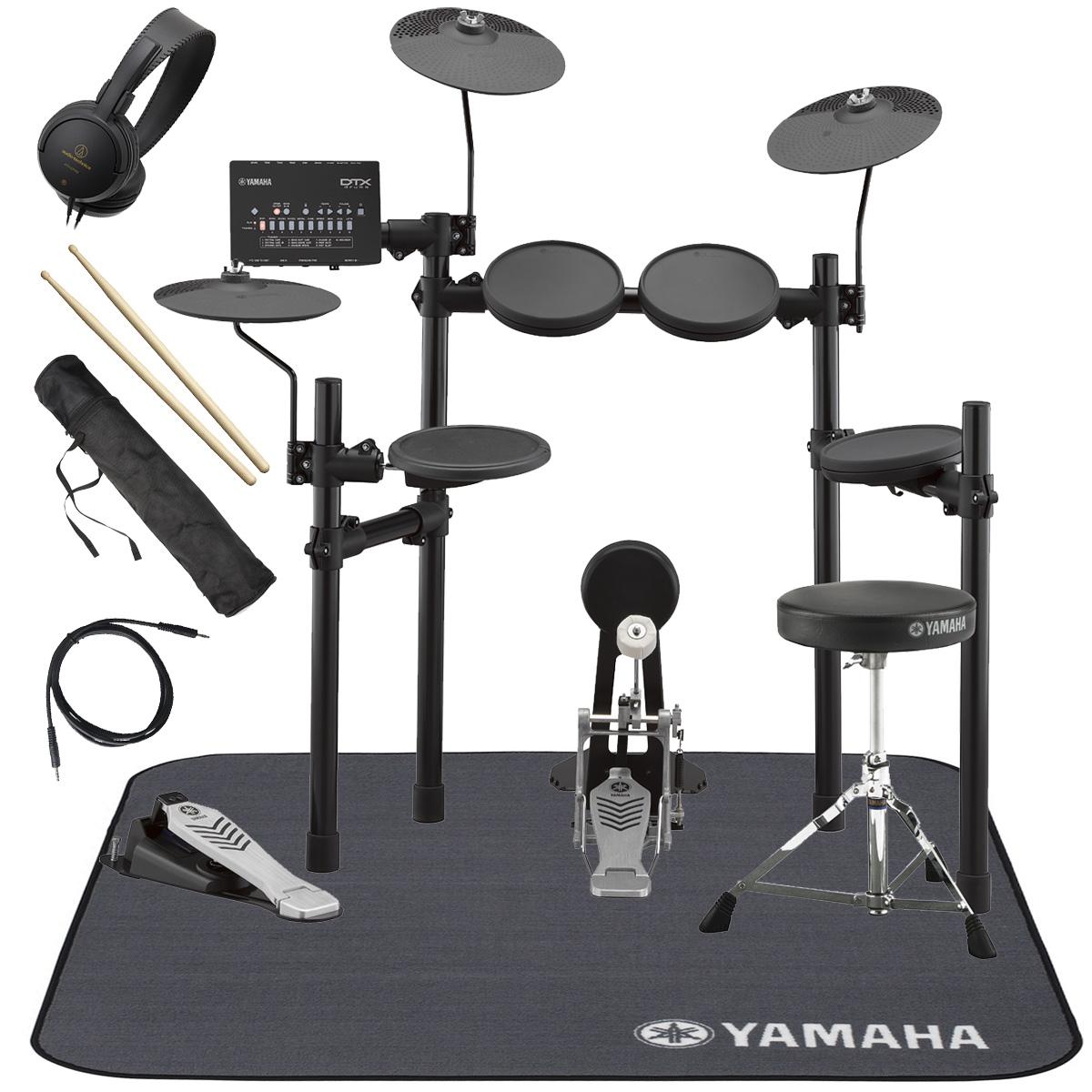 YAMAHA / DTX452KS 電子ドラム 純正マット付き オリジナルスターターパック【YRK】