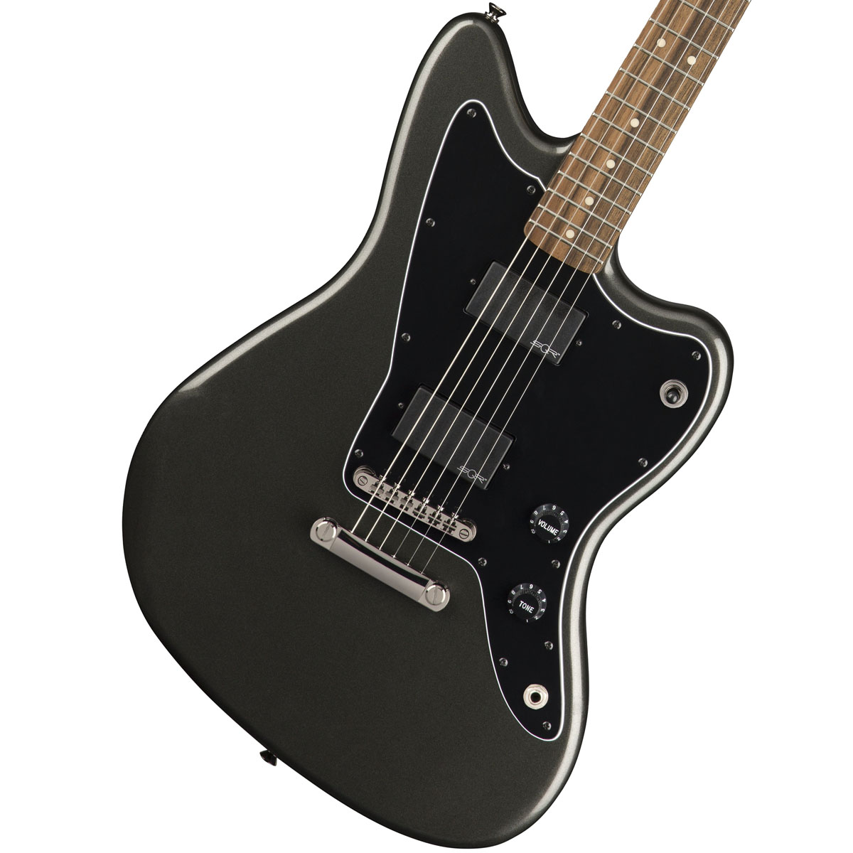 Squier by Fender / Contemporary Active Jazzmaster HH Graphite Metallic Indian Laurel スクワイヤ