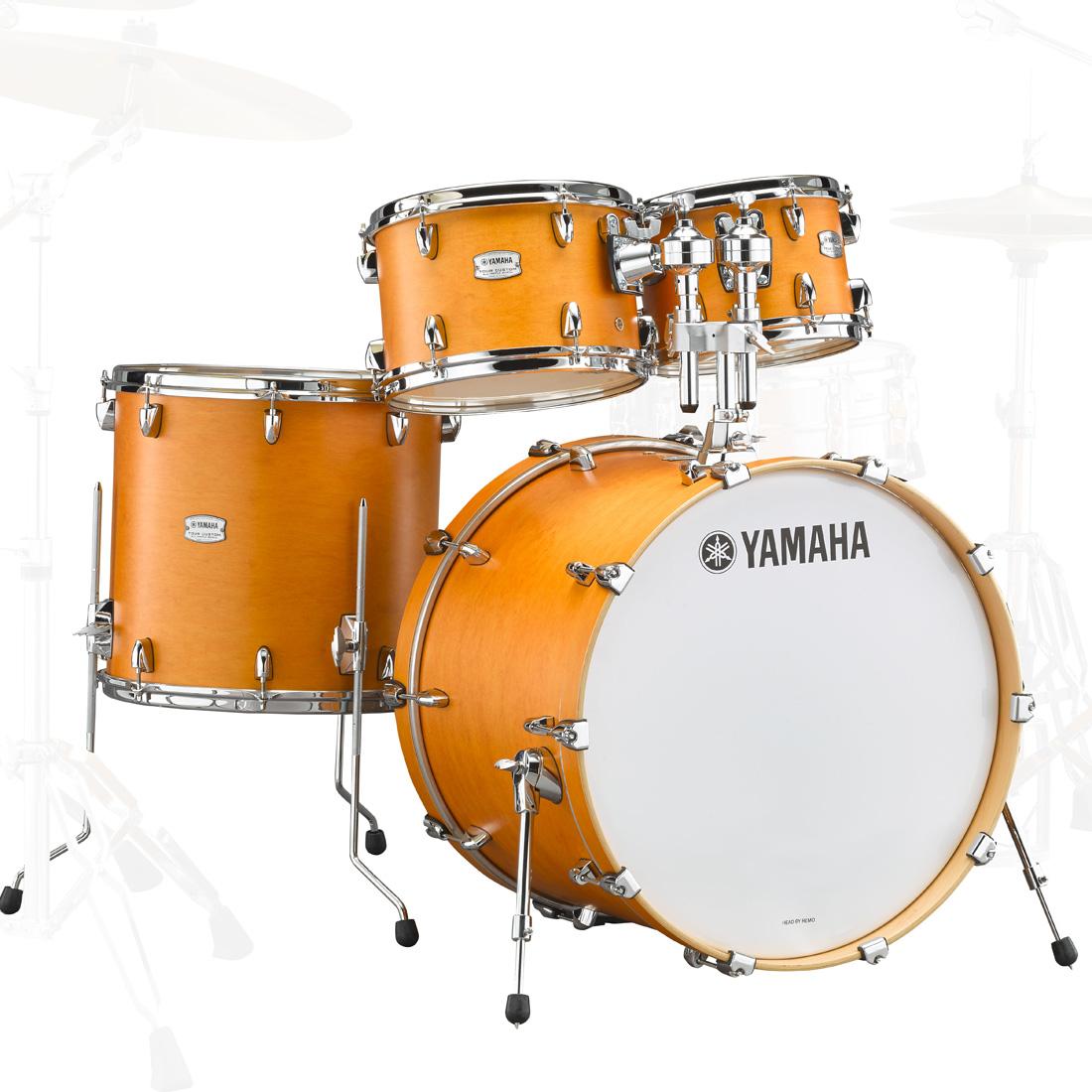 YAMAHA / TMP2F4CRS ヤマハ Tour Custom ドラムシェルパック 22BD キャラメルサテン【お取り寄せ商品】