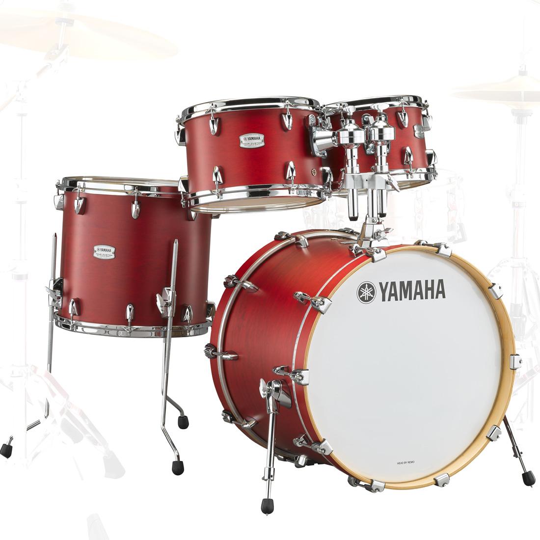 YAMAHA / TMP0F4CAS ヤマハ Tour Custom ドラムシェルパック 20BD キャンディアップルサテン【お取り寄せ商品】