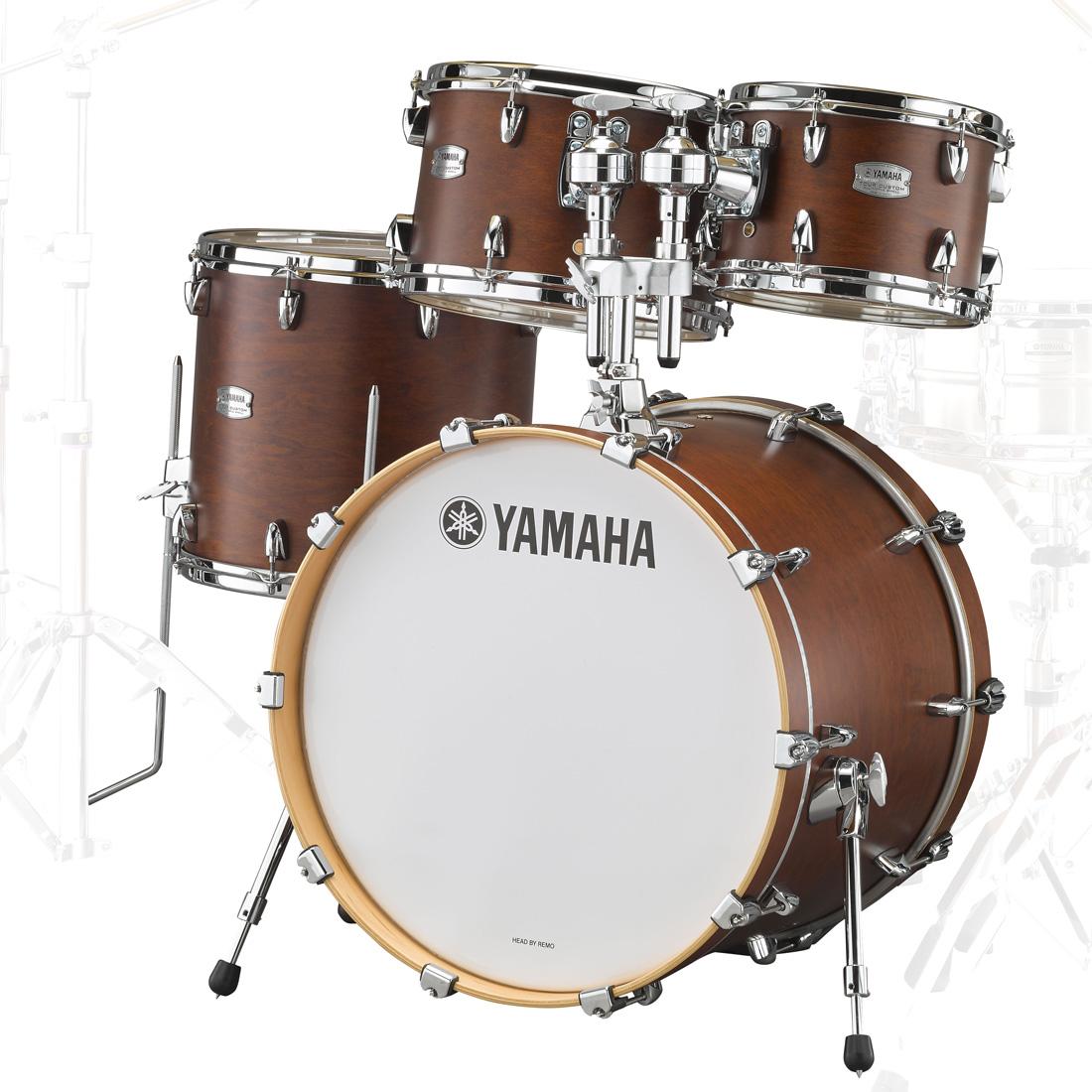 YAMAHA / TMP0F4CHS ヤマハ Tour Custom ドラムシェルパック 20BD チョコレートサテン【お取り寄せ商品】