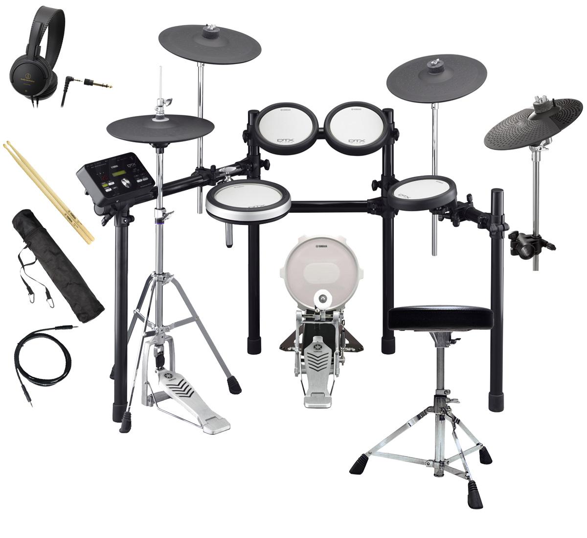 YAMAHA 電子ドラム DTX582KFS 3シンバル オリジナルスターターパック【YRK】