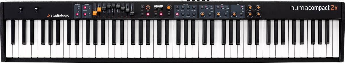 【在庫あり】Studiologic スタジオロジック / Numa Compact 2x ステージ・ピアノ