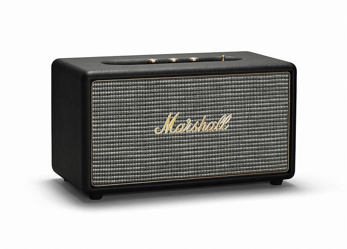 Marshall マーシャル / Stanmore Bluetooth Black スピーカー (ZMS-04091627)【お取り寄せ商品】