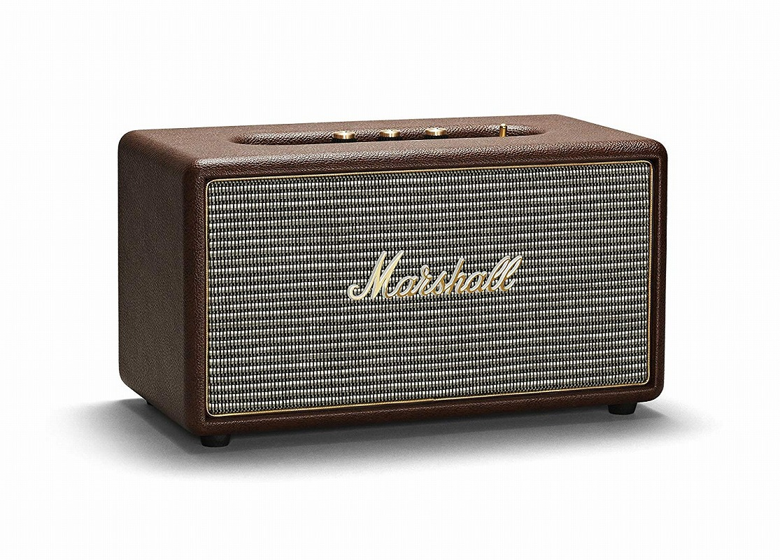 Marshall マーシャル / Stanmore Bluetooth Brown スピーカー (ZMS-04091628)【お取り寄せ商品】