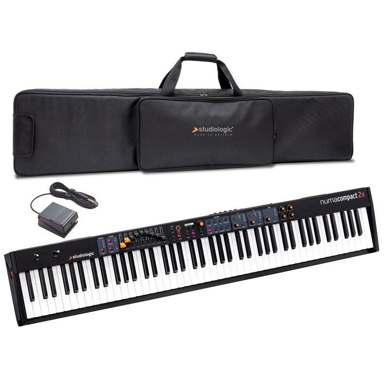 【タイムセール:26日12時まで】【在庫あり】Studiologic スタジオロジック / Numa Compact 2x 【専用ケースセット!】 ステージ・ピアノ