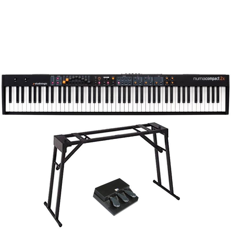 Studiologic スタジオロジック / Numa Compact 2x 【3本ペダルセット!】 ステージ・ピアノ