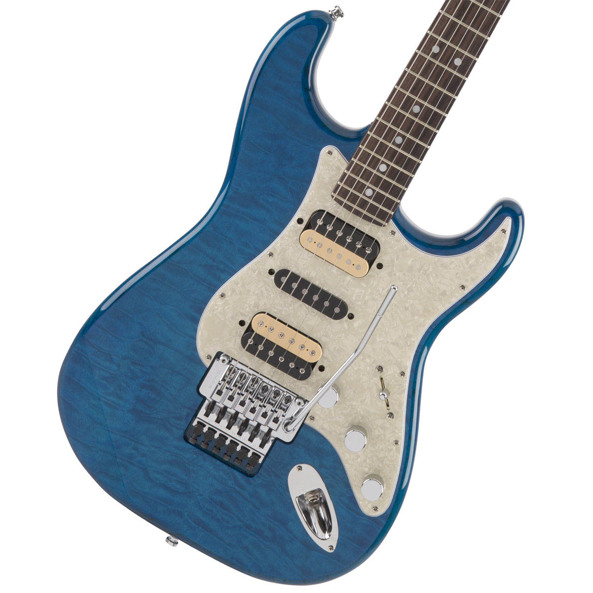 Fender / Michiya Haruhata Stratocaster Caribbean Blue Trans 春畑道哉モデル 【YRK】【新品特価】《純正ケーブル&ピック1ダースプレゼント!/+661944400》【未展示在庫有り】