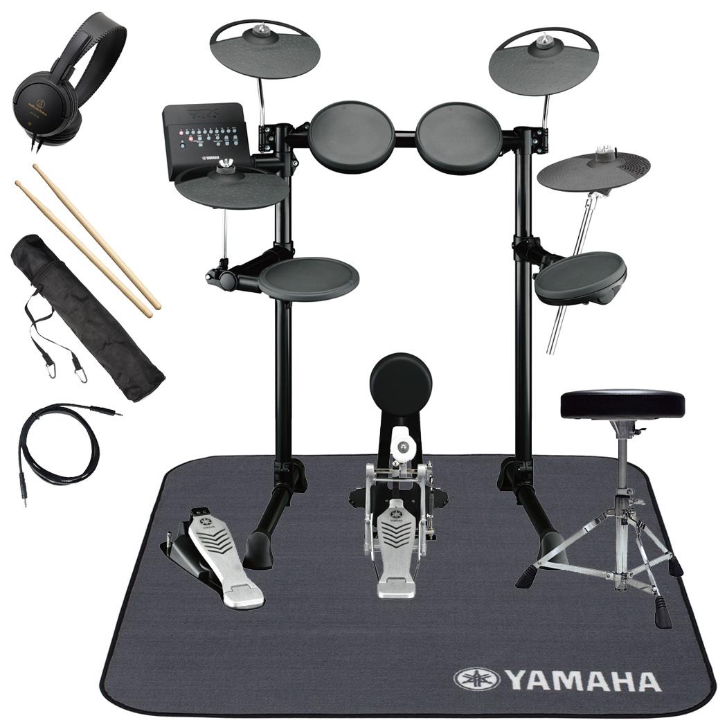 YAMAHA 電子ドラム DTX450KS 3シンバル(PCY95AT)アップグレード スターターパック ヤマハ純正マット付き【YRK】【旧品番】