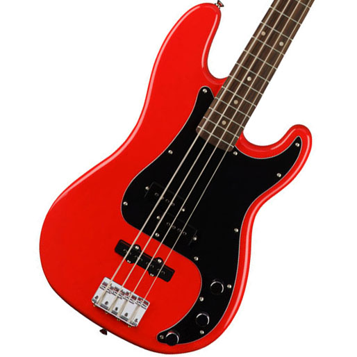 【タイムセール:29日12時まで】Squier by Fender / Affinity Precision Bass PJ Race Red Indian Laurel スクワイア