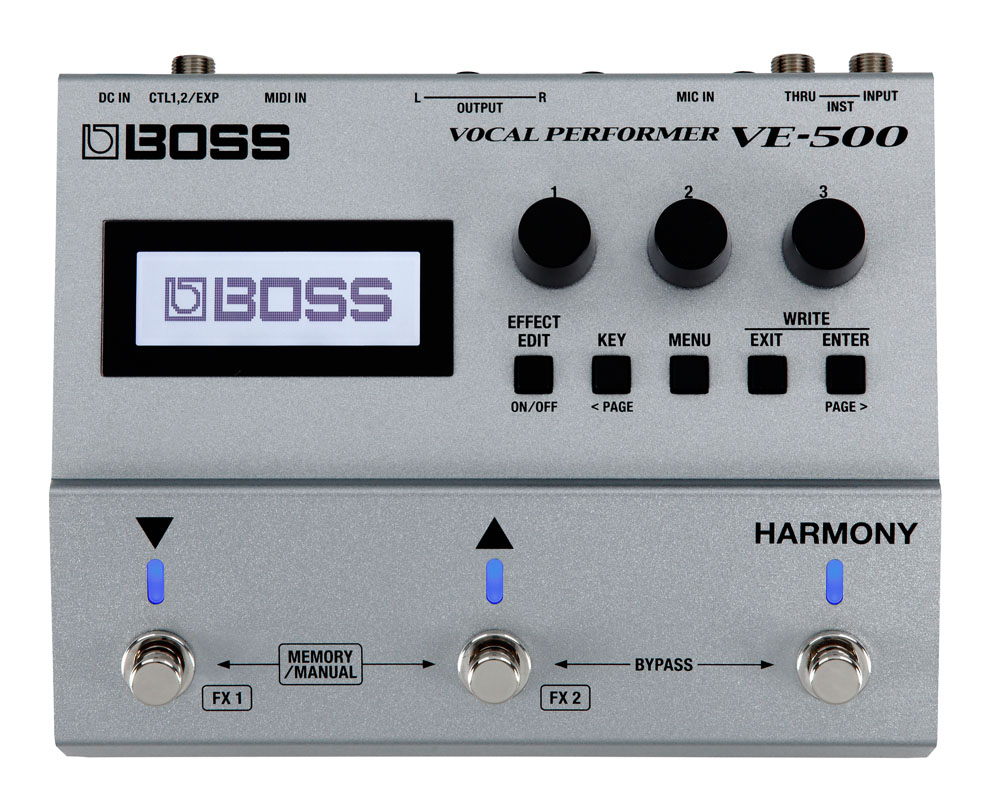 BOSS / VE-500 Vocal Performer ボーカル パフォーマー