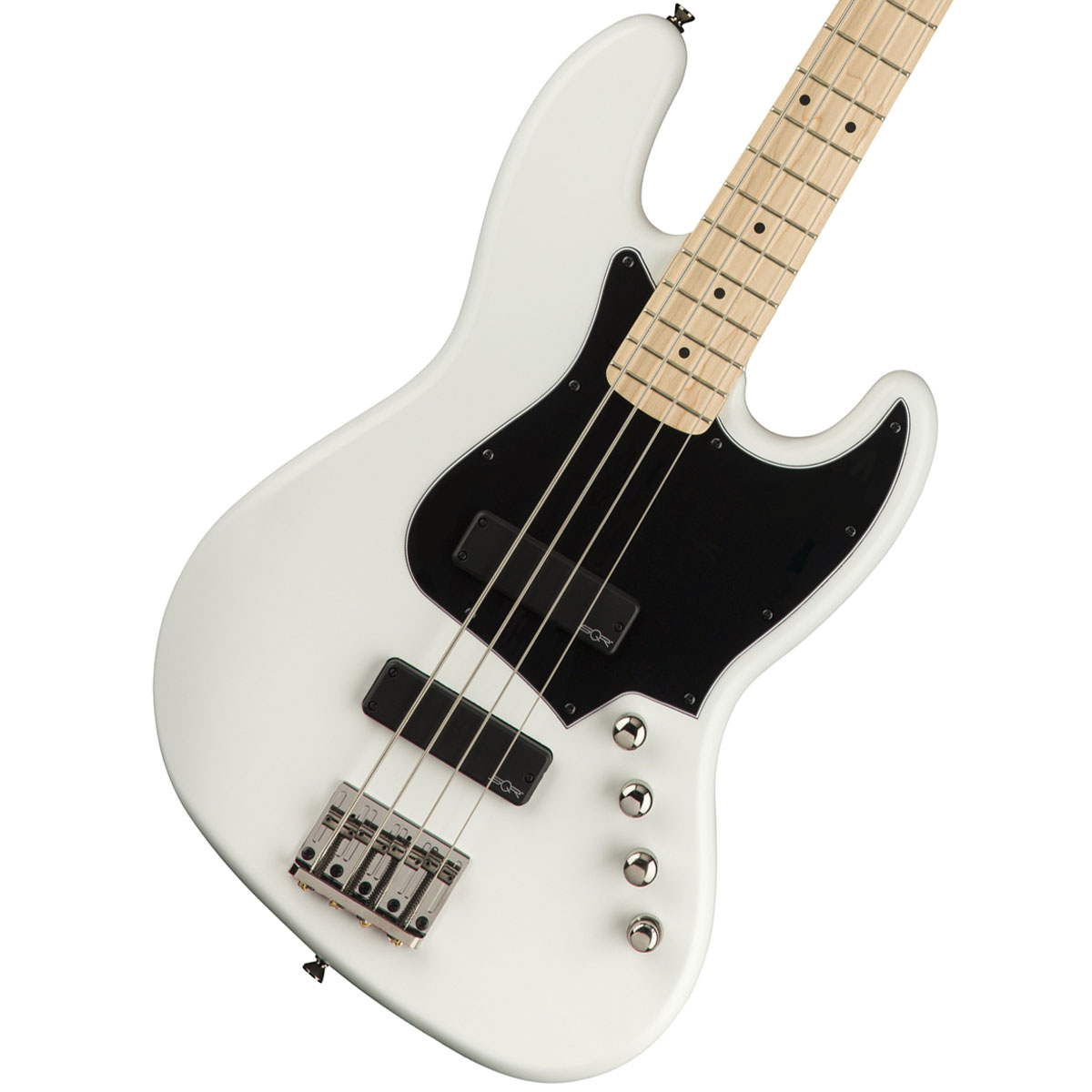 Squier by Fender / Contemporary Active Jazz Bass HH Flat White スクワイア, お酒のちゃがたパーク 78352f38