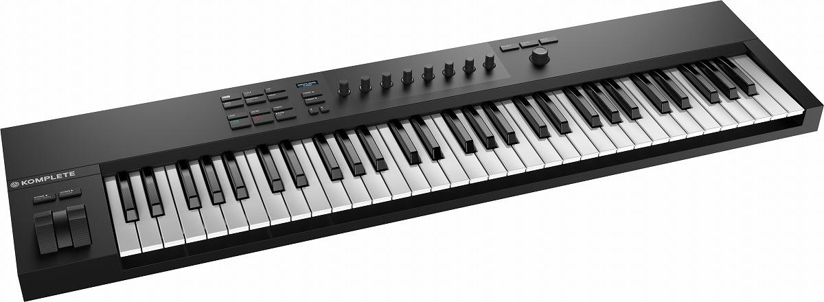 Native Instruments ネイティブインストゥルメンツ / KOMPLETE KONTROL A61 61鍵盤MIDIキーボード