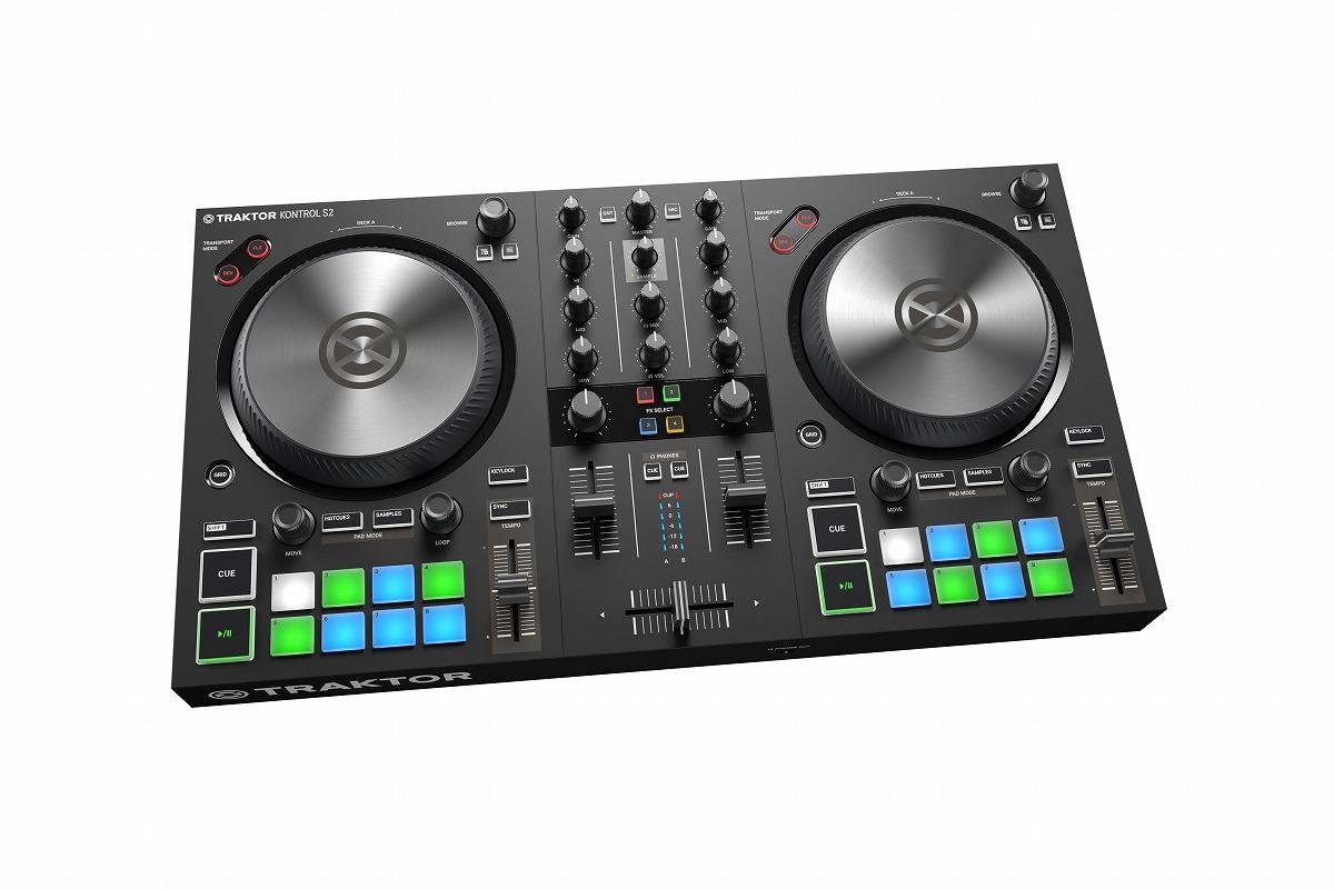 Native Instruments ネイティブインストゥルメンツ / TRAKTOR KONTROL S2 MK3 DJコントローラー